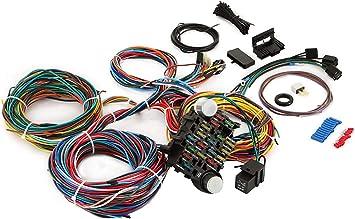 Amazon.com: VEVOR 12 Circuit Wiring Harness Kit Long Wires Wiring Harness  Universal Wiring Harness for Hot Rods, Race Cars: Automotive