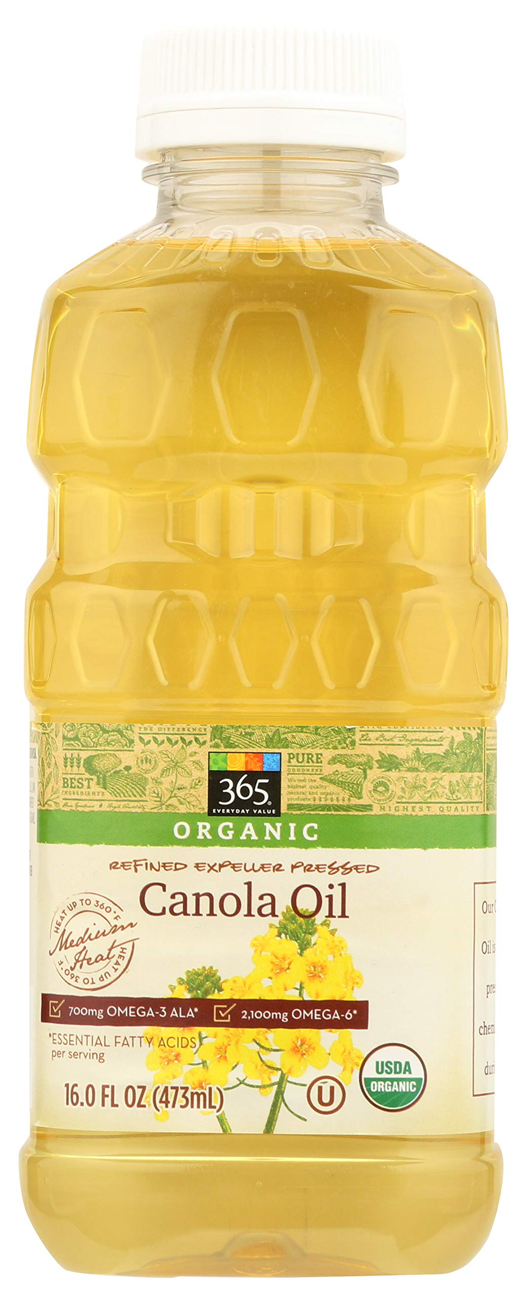 365 Everyday Value, Organic Canola Oil, 16 fl oz