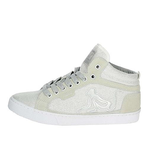 Drunknmunky Donna Sneaker Boston Lite Star ColSilver Scarpe Zeppa KTFclJ31