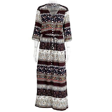 Huide divisão Sexy boho paisley vestido estampado Mulheres de tiras do vintage causal maxi longo vestido
