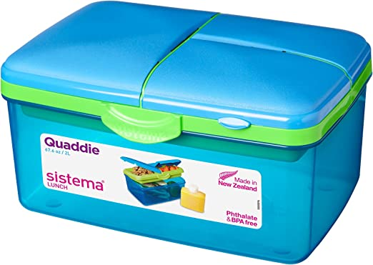 Sistema Lunch Box 2 L Assorted Colours