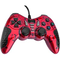 PC Game Controller Wired,USB Gaming Controller Gampad for PC/Laptop Computer(Windows 98 XP 7 8 10) / PlayStation 3…