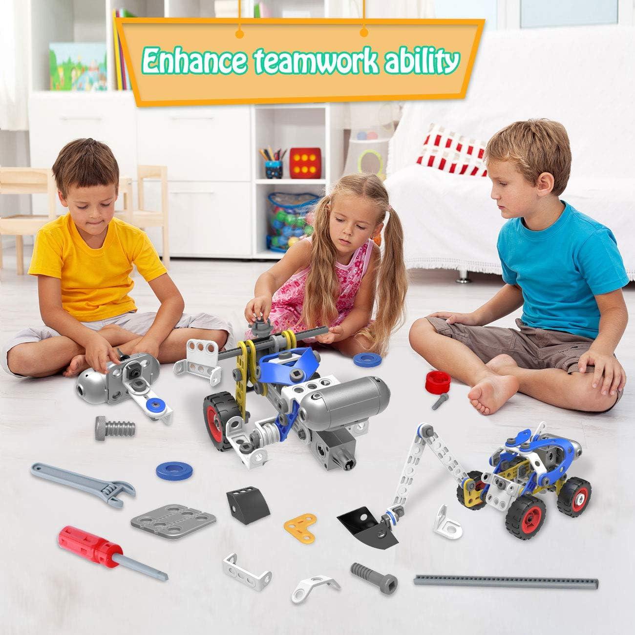 HISTOYE STEM Toys Kits 10 in 1 Educational Engineering ...