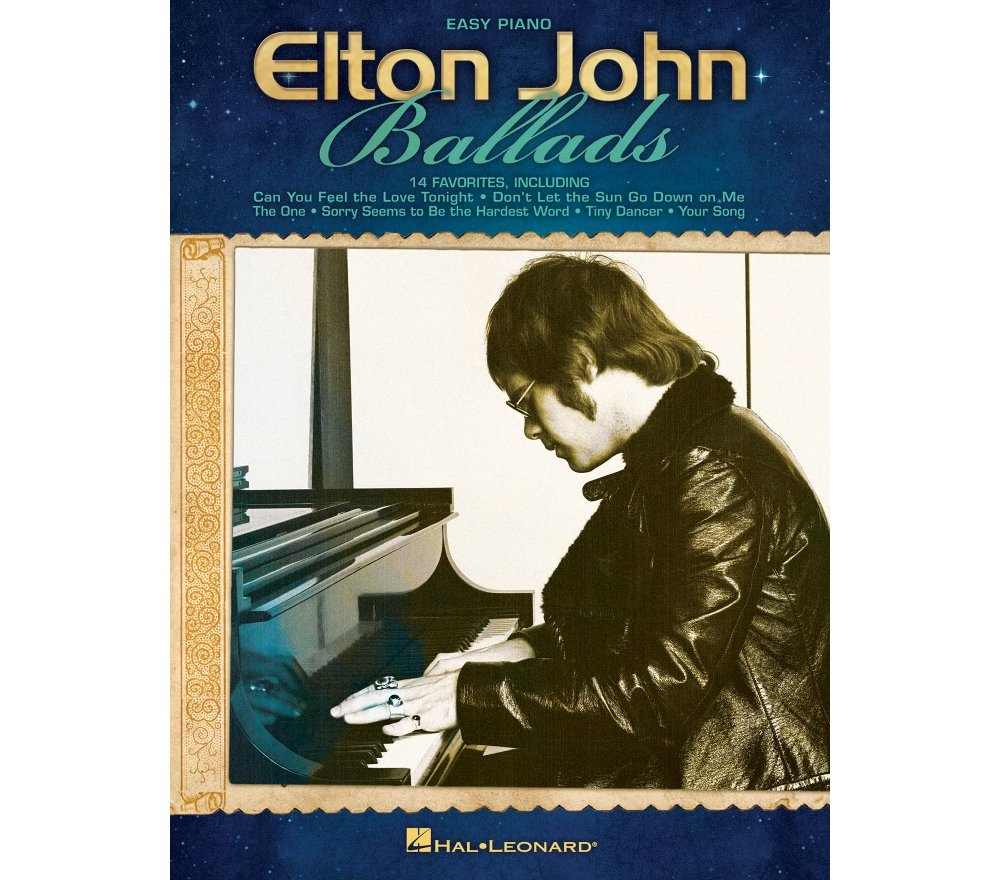 Download Easy Piano Sheet Music To Tiny Dancer By Elton John