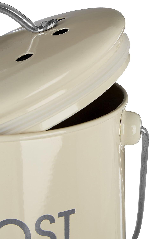 Premier Housewares - Cubo de Basura para abono con asa