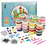 Christmas Foam Clay 35g pots for Children /& Adults Modelling Moulding Crafts