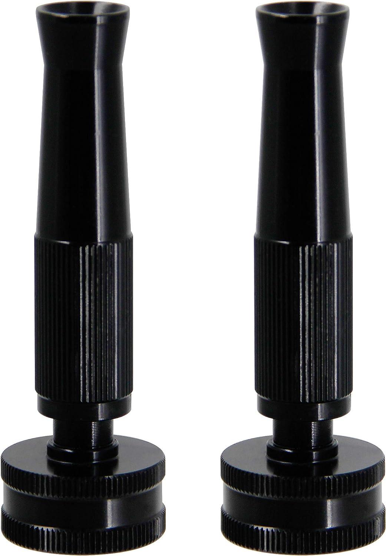 "Lifynste 4"" Garden Hose Nozzle, Adjustable Twist Hose Nozzle, 2 Pack"