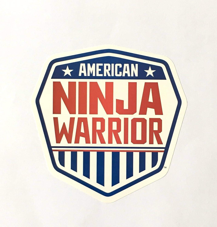 Pegatinas American Ninja Warrior (juego de 4) – 4 pulgadas de alto ...