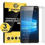 [3 Stück] Microsoft Lumia 650 Panzerglas Displayschutzfolie, Nearpow Schutzfolie 9H Härte, Anti-Kratzen, Anti-Öl, Anti-Bläschen, Anti-Fingerabdruck