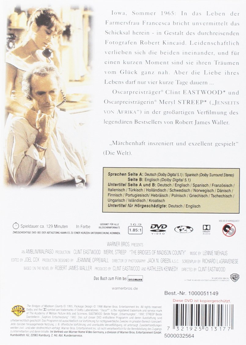 Die Brücken am Fluss: Amazon.de: Lennie Niehaus, Clint Eastwood ...