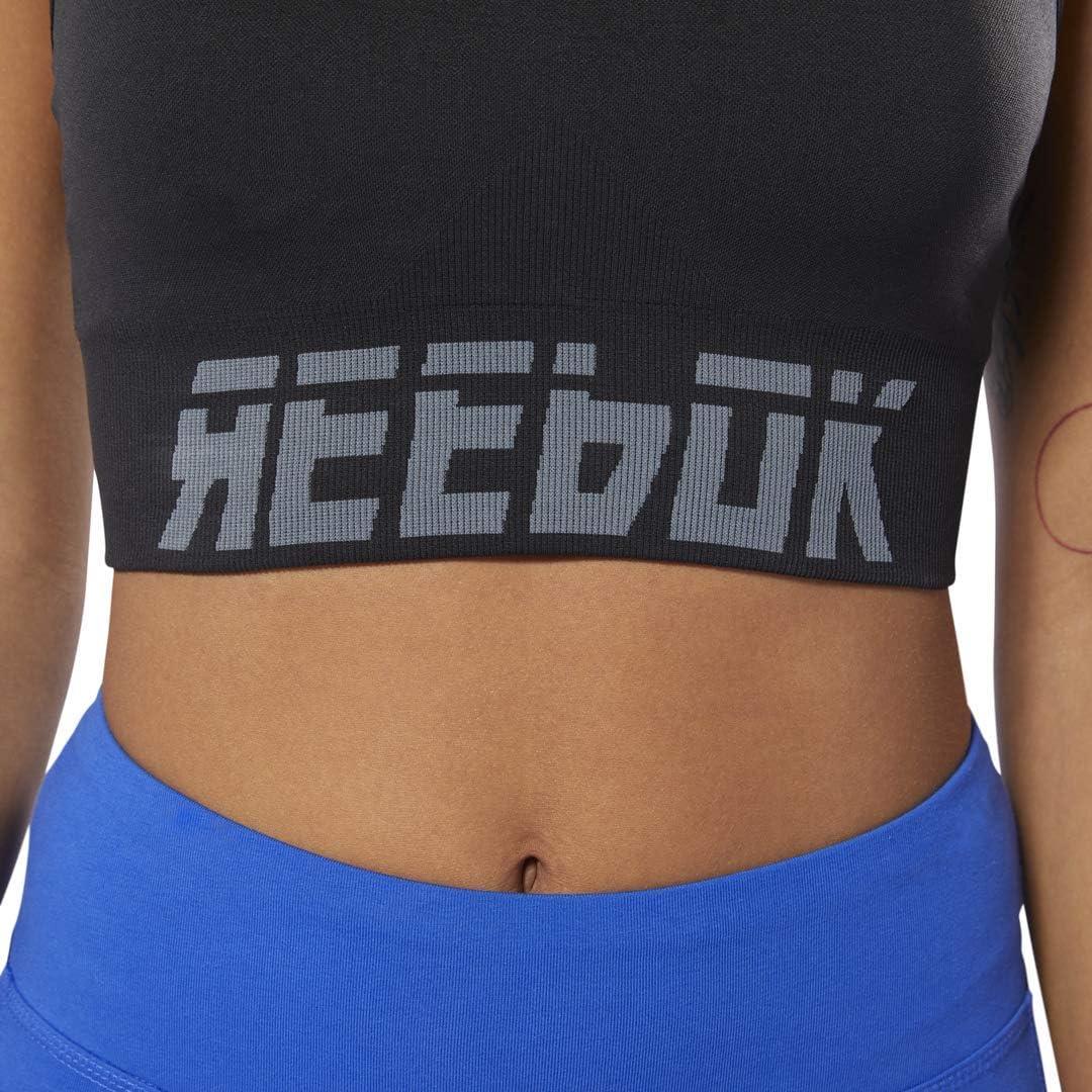 Reebok Meet You There Seamless Padded Bra