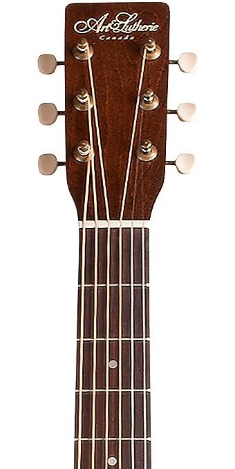 Amazon.com: Art & Lutherie Americana Series CW QIT Acoustic-Electric Guitar Bourbon Burst: Musical Instruments
