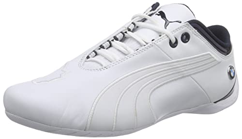 a73608105bc Puma Men s BMW Ms Future Cat M1 2 White Leather Safety Shoes - 10 UK ...