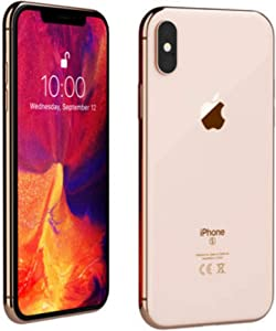 Apple iPhone XS, 256GB, Gold - For Sprint (Renewed)