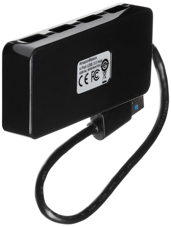 Streaming en Full HD 1080p con tr/ípode y Licencia Gratuita de 3 Meses para XSplit Color Negro Enchufe Europeo Logitech C922 Pro Stream Webcam Negro /& Basics Hub USB 3.0 de 4 Puertos