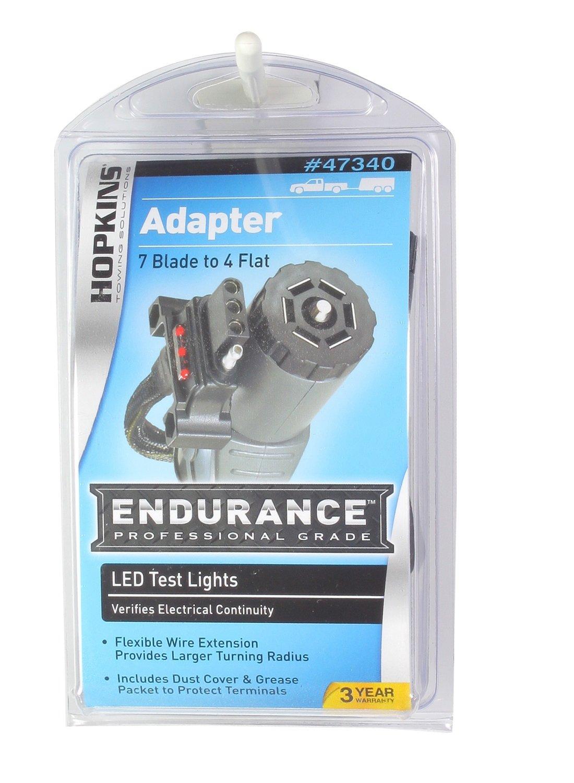 Amazon.com: Hopkins 47340 Endurance 7 RV Blade to 4 Flat LED Flex ...