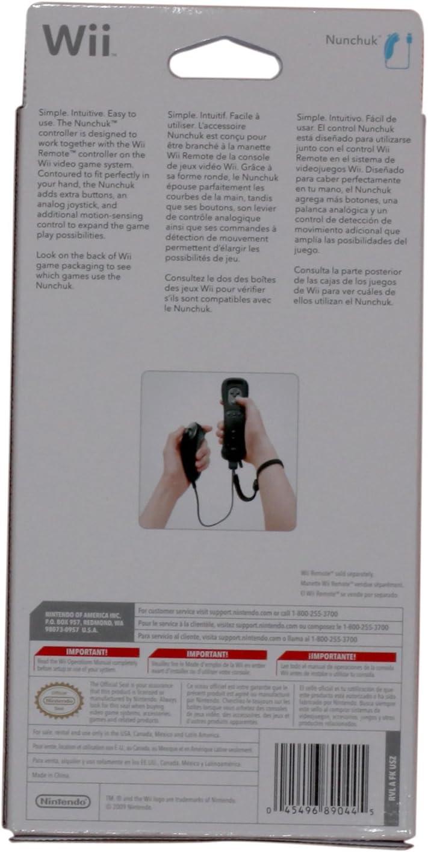 Amazon.com: Wii Nunchuk Controller - White: nintendo wii ...