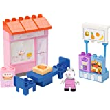 BIG Spielwarenfabrik Big 800057108 - PlayBIG Bloxx Peppa Pig Cake Shop