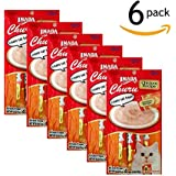 Ciao Churu Cat Treat Creamy Puree Chicken Multi-Pack (6 Pouches - 24 Tubes Total)
