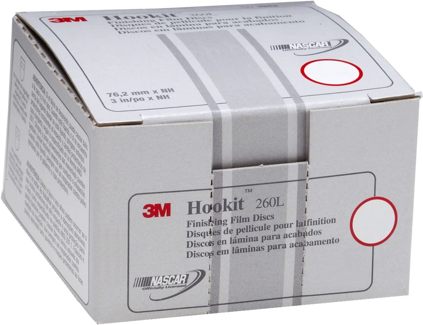 B002IVAB08 3M Hookit Finishing Film Abrasive Disc 260L, 00969, 6 in, P1000, 100 discs per carton 71kt6kmP7bL