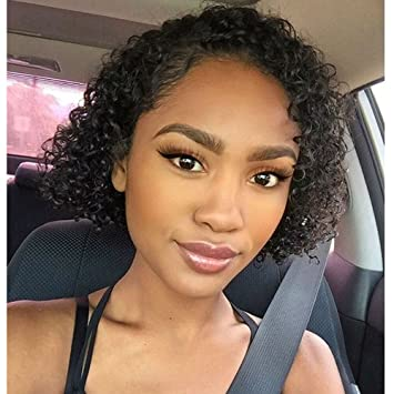 Short Curly Human Hair Wigs 8a Brazilian Virgin Hair For Black Women Natural Looking By N T