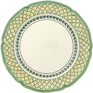 Villeroy & Boch French Garden Orange Dinner Plate, 10.25 in, White/Multicolored