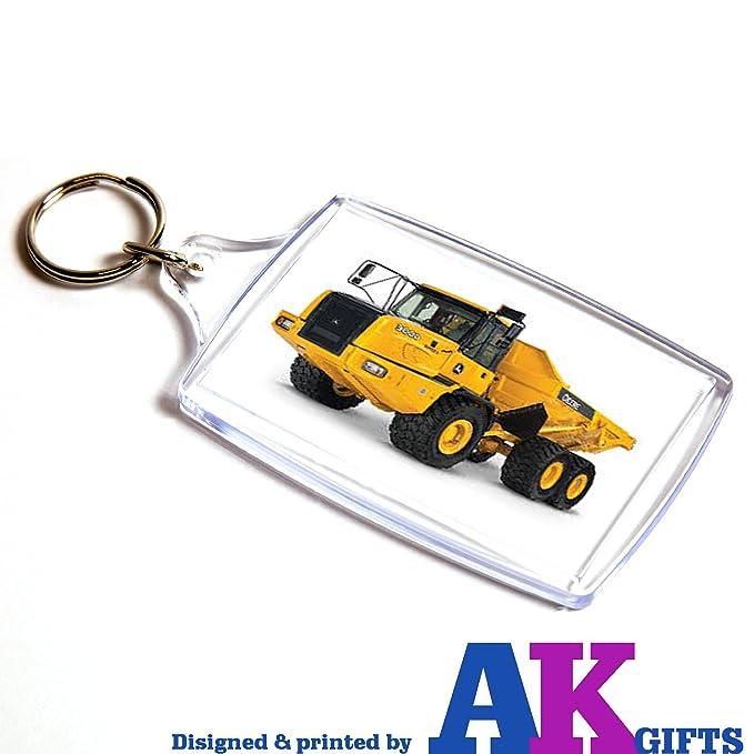 AKGifts Camión Doble Cara Llavero niños para Hombre de ...
