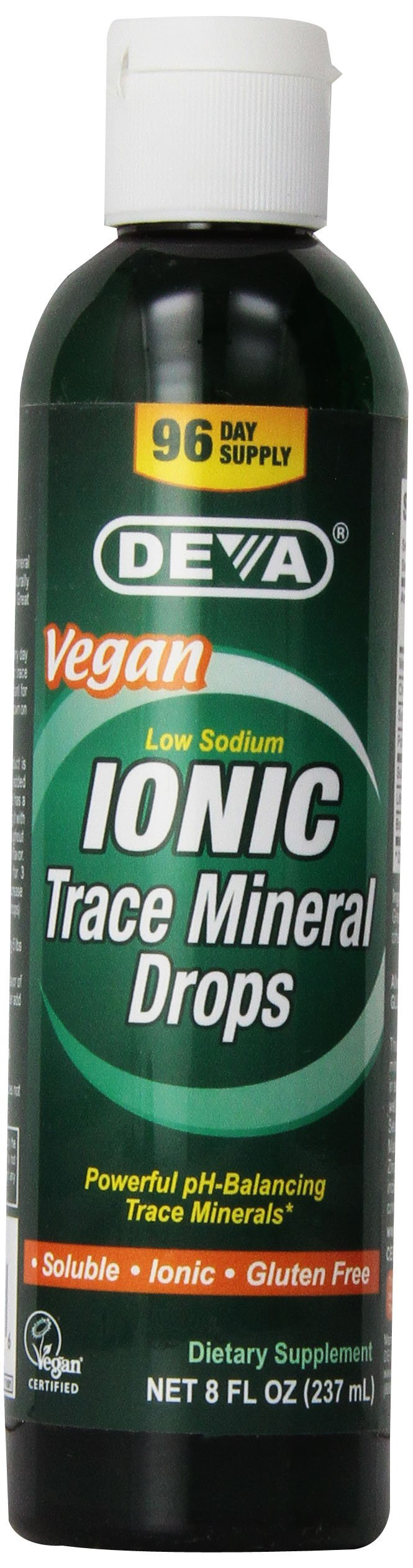 Deva Nutrition Trace Mineral Drops, Vegan, 8 oz