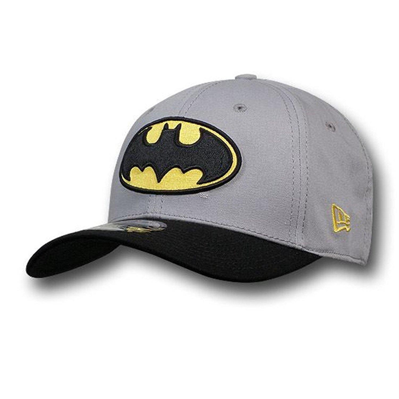 bee28ec276d DC Comics Batman 39Thirty Grey   Black Baseball Cap - -  Amazon.co.uk   Clothing