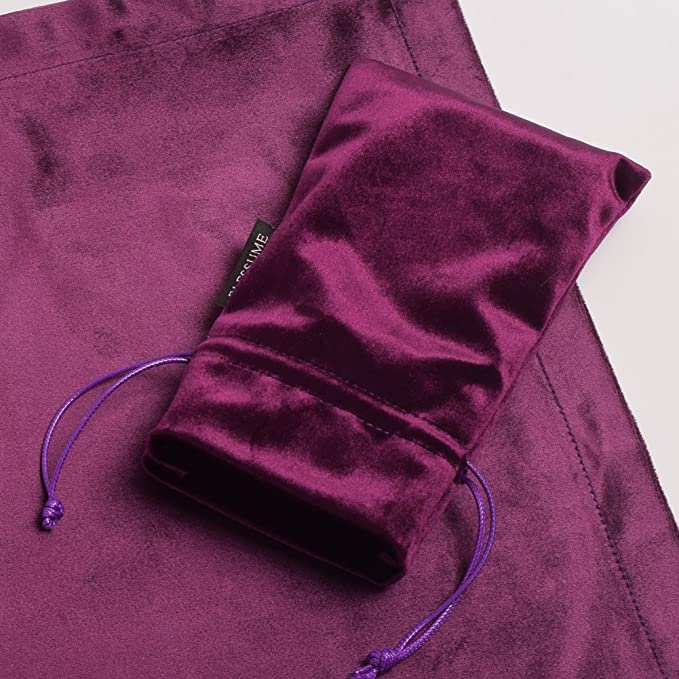 Violet BLESSUME Tarot Divination Table Tissu et Poche