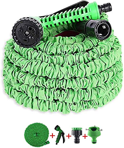 OYD Manguera de Jardín Flexible, (50FT) Hose 15m Manguera de Riego Extensible Magic Hose,Manguera Flexible Estirable (Verde): Amazon.es: Jardín