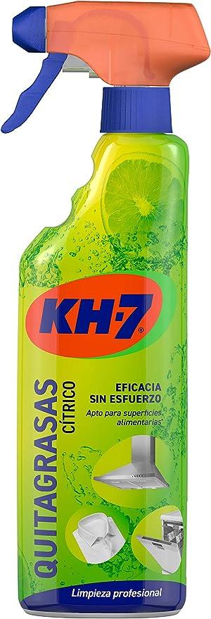 Kh-7 Quitagrasas Pulverizador Aroma Limón - 750ml: Amazon.es: Alimentación y bebidas