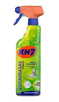 Kh-7 Quitagrasas Pulverizador Aroma Limón - 750ml: Amazon.es ...