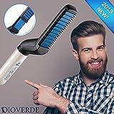 Beard Straightener, Electric Beard Straightener Brush, Multifunctional Beard and Hair Straightening Heat Brush Comb, Best Heat Beard Straightener Brush for Gift