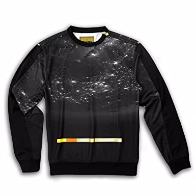 Jewel House Spaced Out Crewneck Sweater Size L