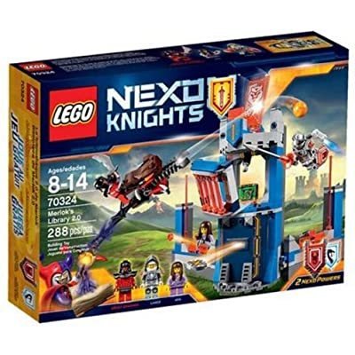 Lego Nexo Knights Merlock's Library 2.0 70324: Toys & Games