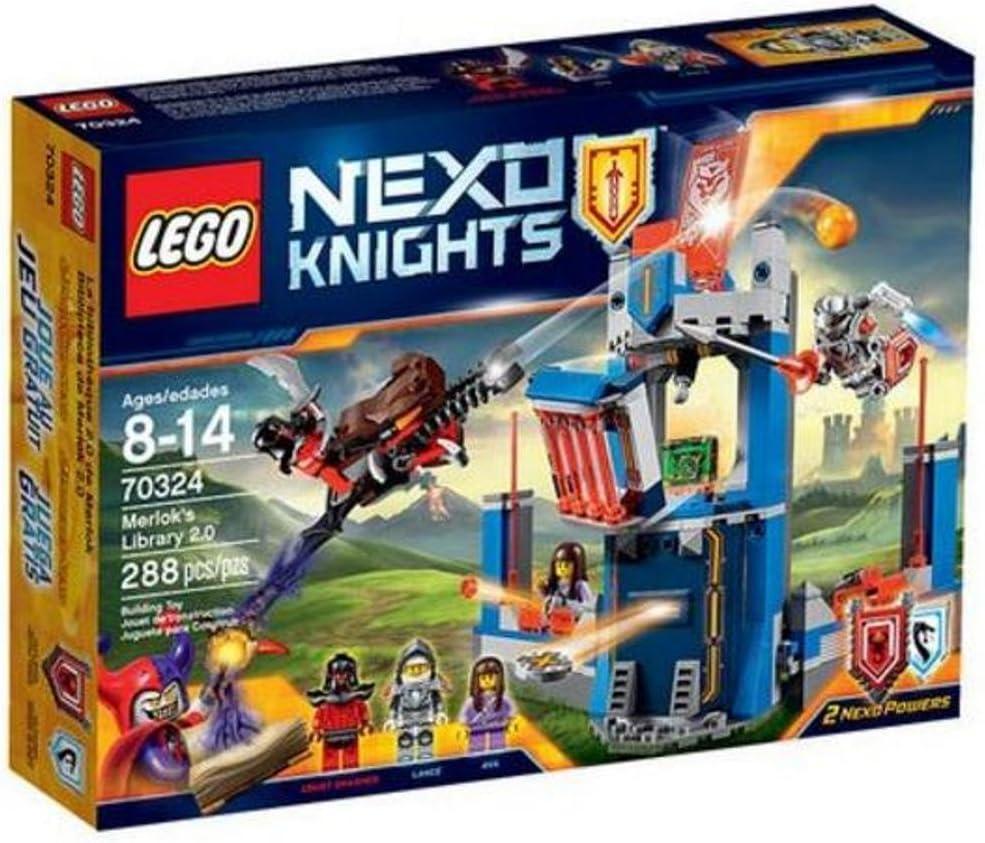 Lego Nexo Knights Merlock's Library 2.0 70324
