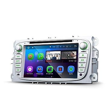 Eonon Android 7.1 Ford Mondeo Focus S-Max coche de DAB+ WiFi GA8161