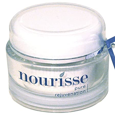 Nourisse Naturals Organic Anti-Aging Sensitive Skin Moisturizer 98 Organic Moisturizer for Sensitive Skin Healing for Extra Dry Skin Balancing for Oily Skin Unscented 1.8 oz