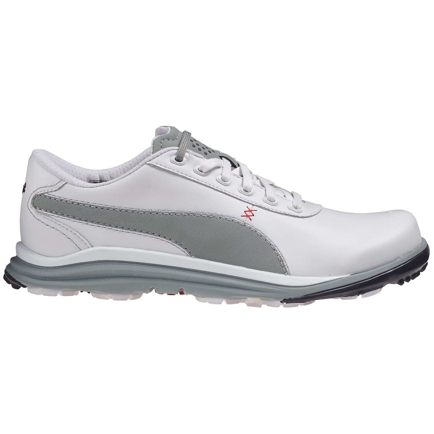 Amazon.com   Puma BioDrive Leather Men Golfschuhe Golf 188337 02 white    Shoes ed9d279a5524a