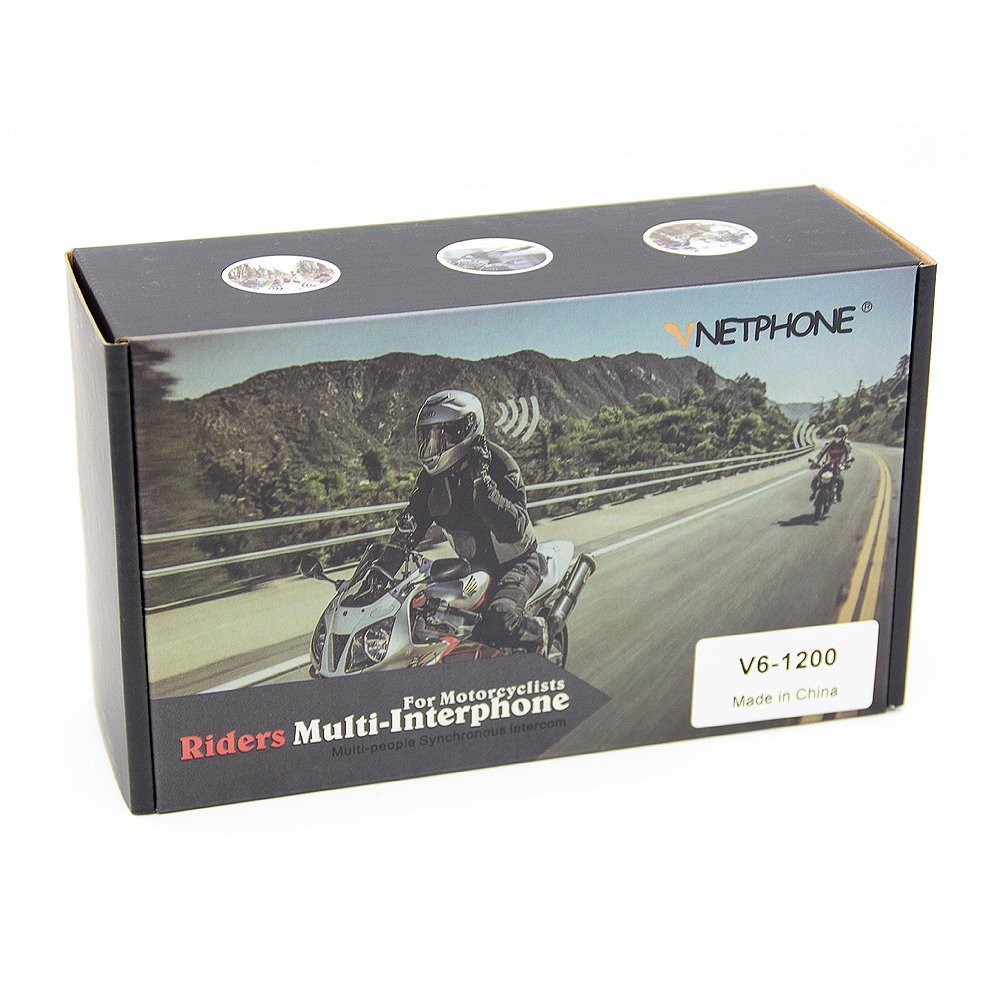 CARCHET Interfono Inalámbrico Con Micrófono Manos Libres Con Bluetooth Para Casco de Moto, Blanco y Negro 500/800mt nero B 1pc: Amazon.es: Coche y moto