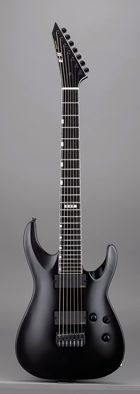 E-II / ESP ( ESPワールドブランド / イーツー)HORIZON NT-7B HIPSHOT BLKS Black Satin 7弦ギター ハードケース付 B075FW9N27