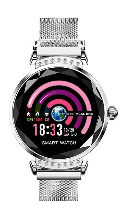 Amazon.com: Wisess Smart Watch for Android/iOS Phones ...