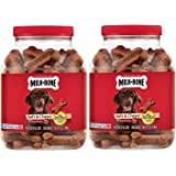 Milk-Bone 2 Pack Soft & Chewy Beef & Filet Mignon Recipe Dog Treats, 25-Ounce
