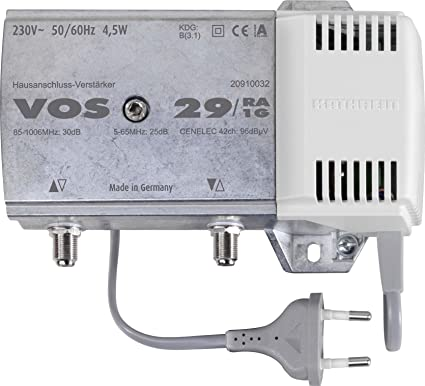 Kathrein VOS29/RA-1G - Amplificador de señal para equipos por ...
