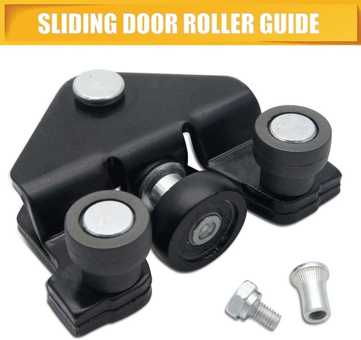 SANWAN - Guía de rodillo para puerta corredera y parte inferior de bisagra compatible con Trafic/Primastar/Vivaro 2001-2010 - inferior izquierda: Amazon.es: Coche y moto