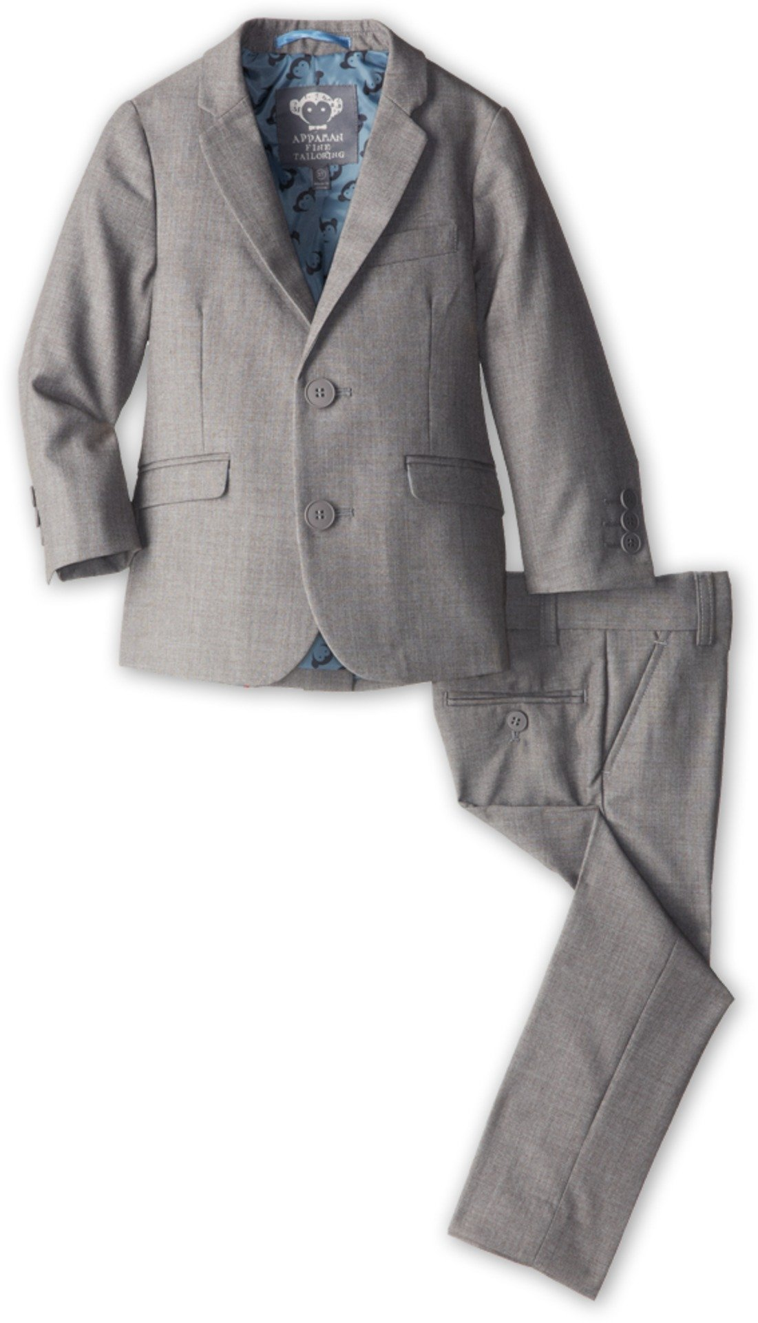 Appaman Big Boys' Two Piece Classic Mod Suit, Mist, 8