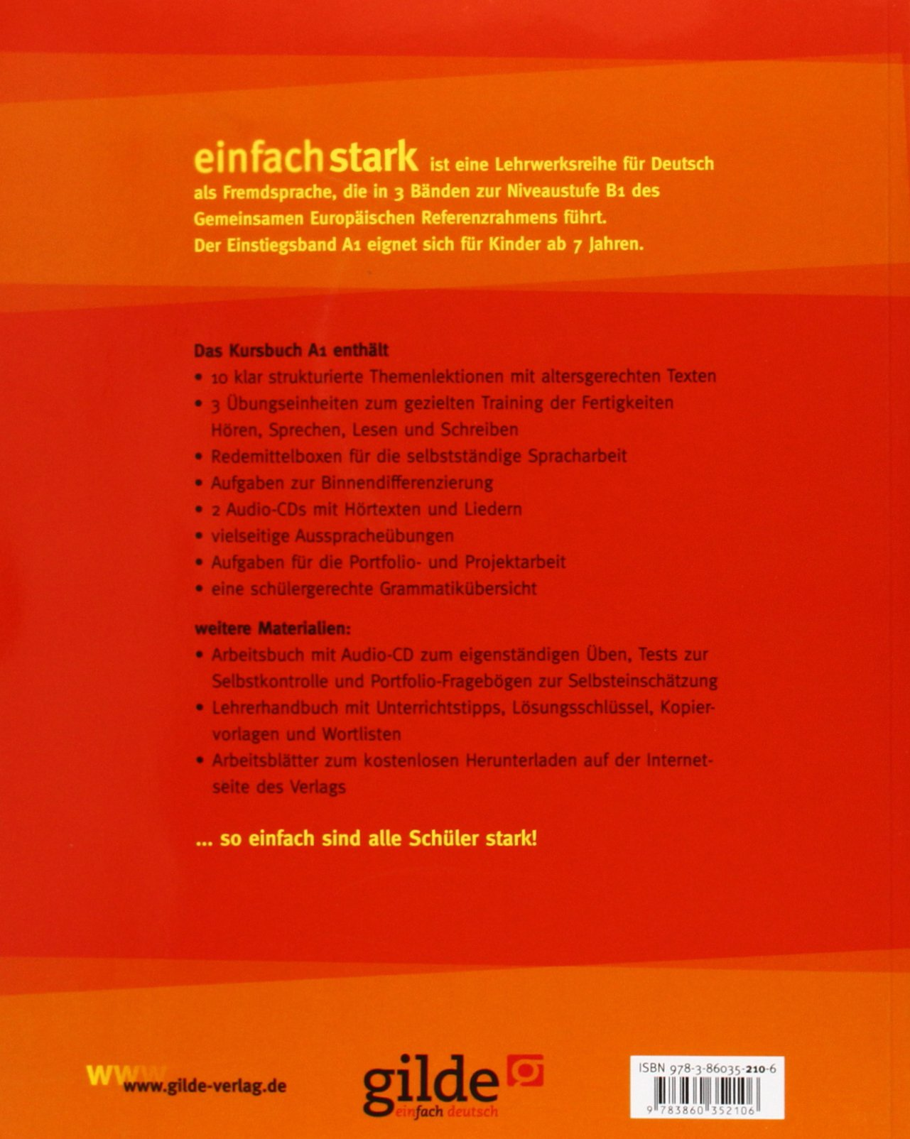 einfach stark - Kursbuch A1: Deutsch für Kinder und Jugendliche ...