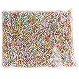 FJTANG Styrofoam Balls 0.1-0.18 Inch Colorful 800 Pcs * 2