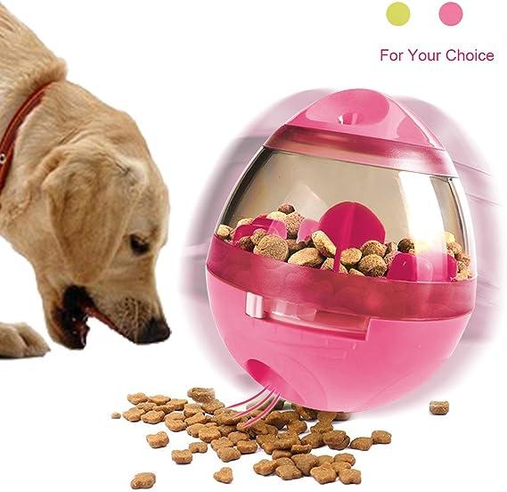 RCRuning-EU Juguetes interactivos para perros,Juguete dispensador ...